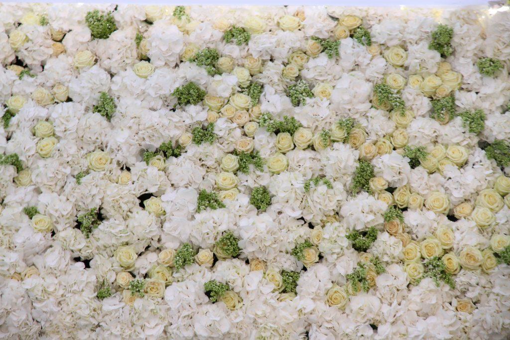 Piscine de fleurs