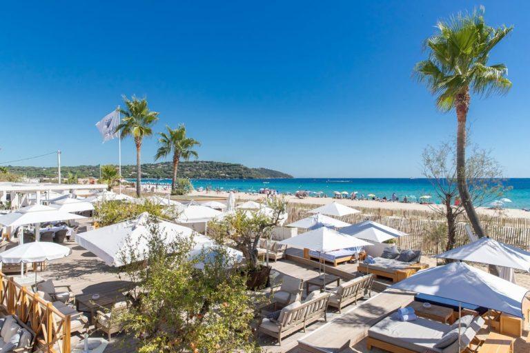 Le St Tropez - wedding on the beach