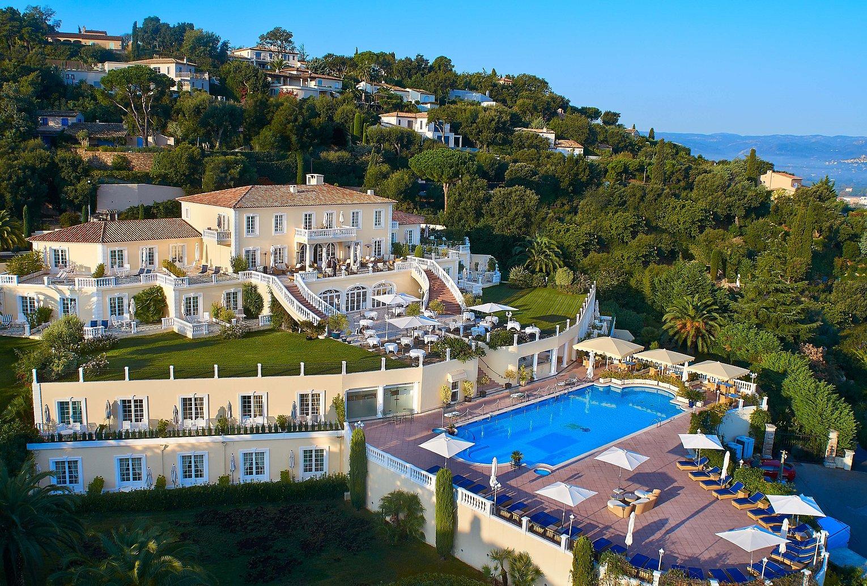 Villa florentine mariage Saint Tropez