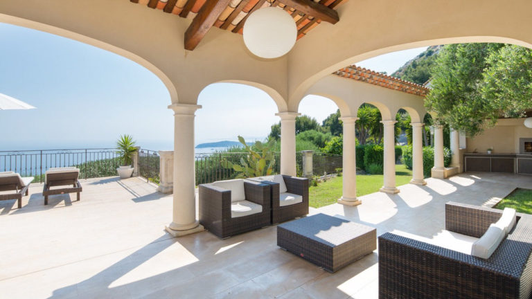 Wedding villa with sea view for your wedding in Cap d'Ail
