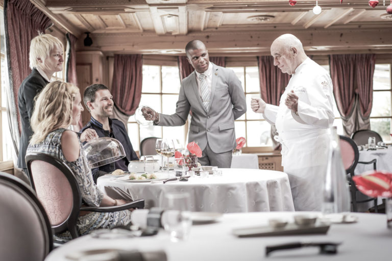 Chalet Hotel in Courchevel