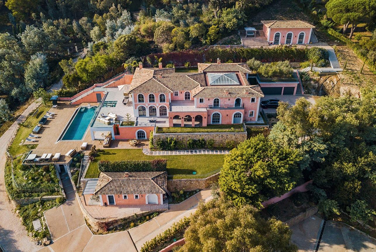 villa contemporaine mariage à cannes cote d'azur