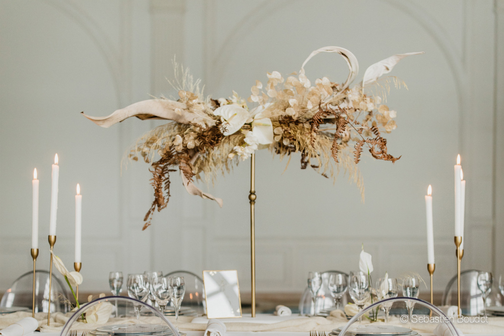 luxury boho flower designer